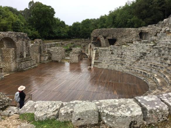 Butrint amphitheatre