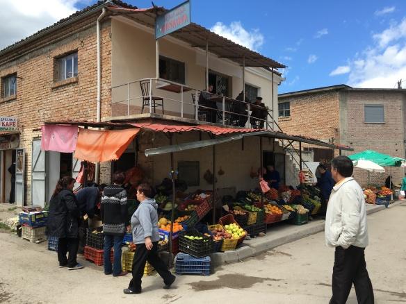 Korca markets