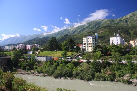 Permet town