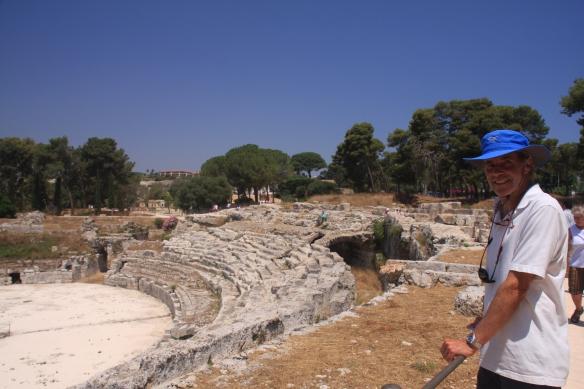 5 Syracuse amphitheatre